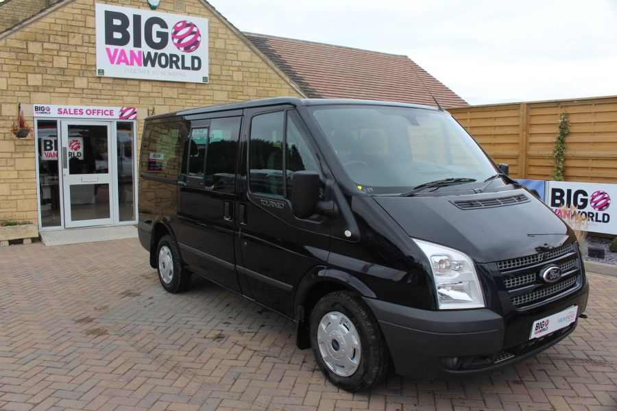 FORD TRANSIT 280 TDCI 125 TOURNEO TREND 9 SEAT MINIBUS SWB LOW ROOF - 6417 - 2
