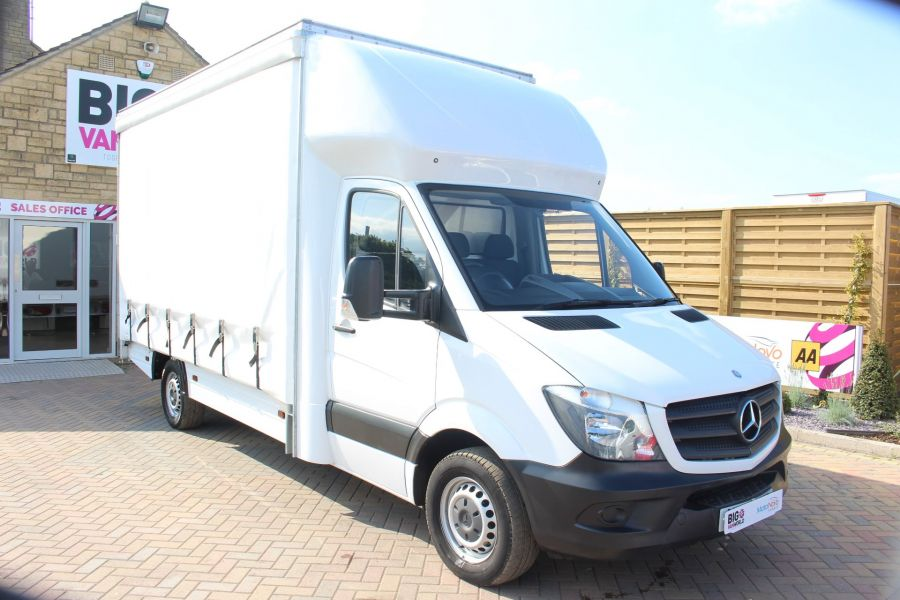 MERCEDES SPRINTER 313 CDI LWB CURTAIN SIDE BOX VAN - 6902 - 2