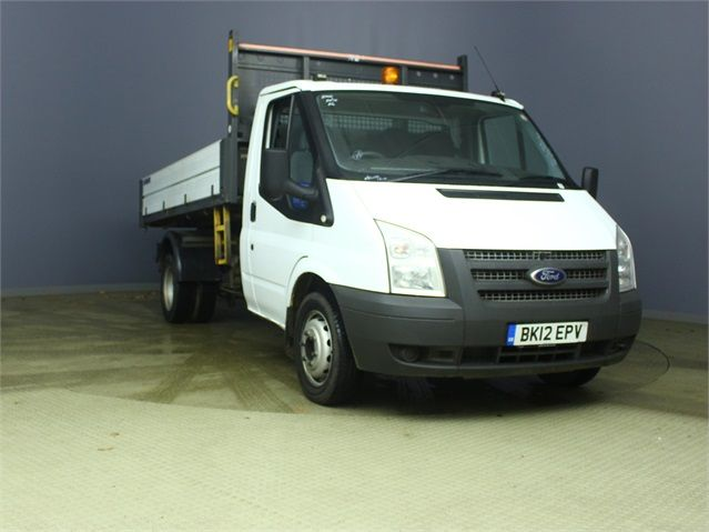 FORD TRANSIT 350 TDCI 100 MWB 'ONE STOP' ALLOY TIPPER DRW RWD - 6985 - 1