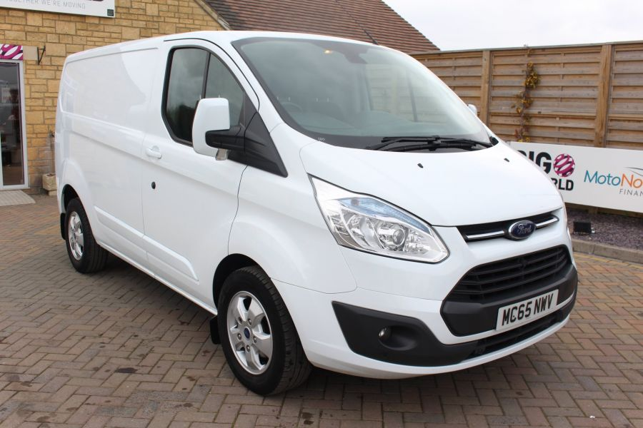 FORD TRANSIT CUSTOM 330 TDCI 125 L1 H1 LIMITED SWB LOW ROOF FWD - 9004 - 1