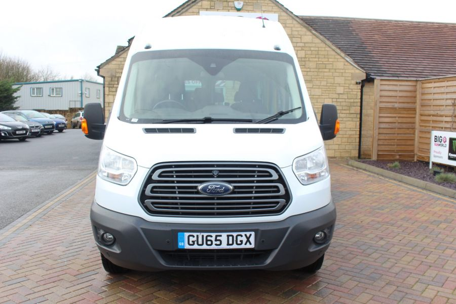 FORD TRANSIT 460 TDCI 125 TREND L4 H3 HIGH ROOF 17 SEAT BUS - 8551 - 9