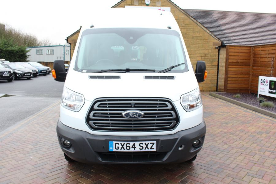 FORD TRANSIT 460 TDCI 125 L4 H3 TREND 17 SEAT BUS HIGH ROOF DRW RWD - 8462 - 8