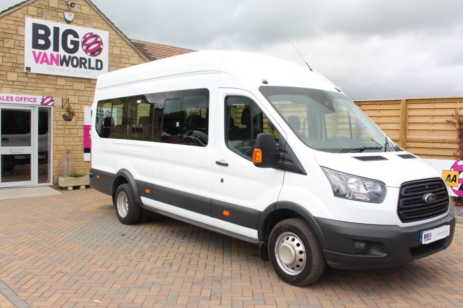 FORD TRANSIT 460 TDCI 125 L4 H3 LWB HIGH ROOF 17 SEAT BUS RWD - 6608 - 2
