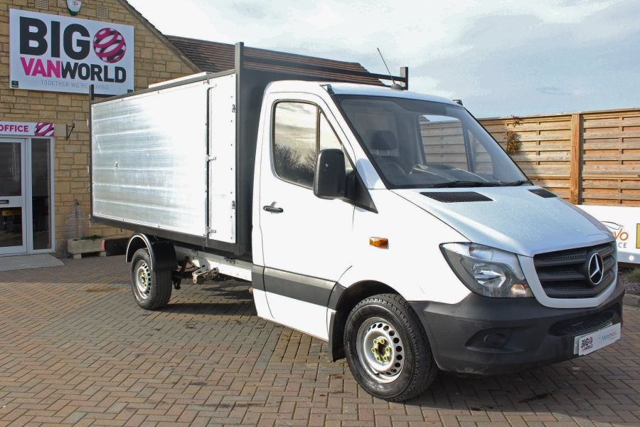 MERCEDES SPRINTER 313 CDI 129 MWB SINGLE CAB NEW BUILD ARBORIST ALLOY TIPPER - 10501 - 11
