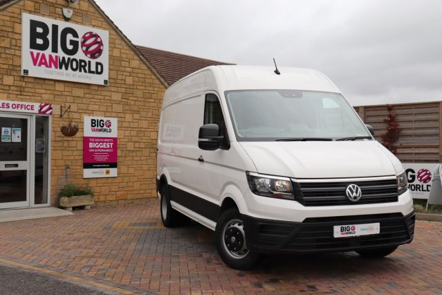 Used VOLKSWAGEN CRAFTER in Used Vans Swindon for sale