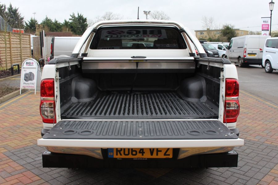 TOYOTA HI-LUX INVINCIBLE 4X4 D-4D 169 DOUBLE CAB WITH ROLL'N'LOCK TOP - 7307 - 25