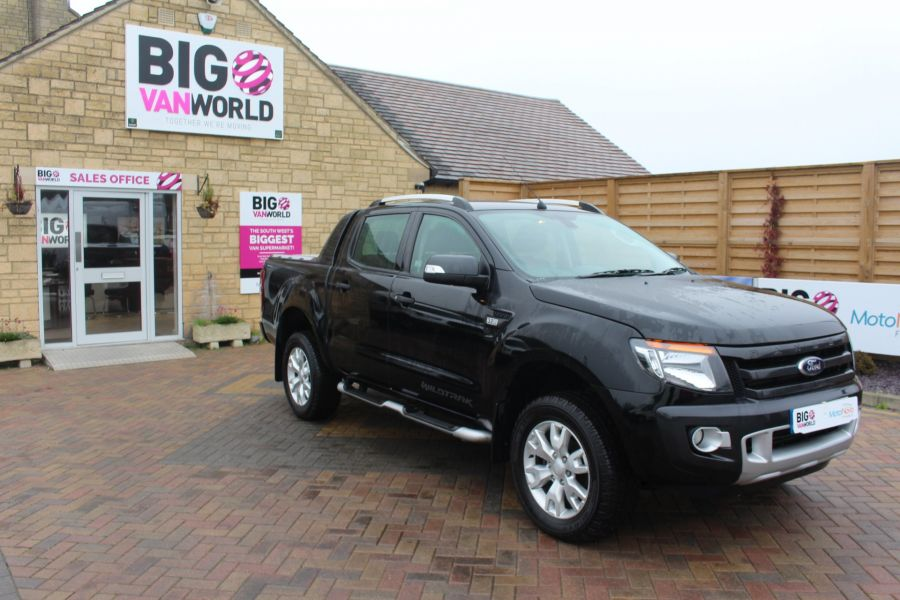 FORD RANGER TDCI 197 WILDTRAK 4X4 DOUBLE CAB WITH ROLL'N'LOCK TOP - 6862 - 2