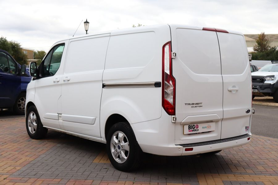 FORD TRANSIT CUSTOM 310 TDCI 130 L1H1 LIMITED SWB LOW ROOF - 11931 - 10