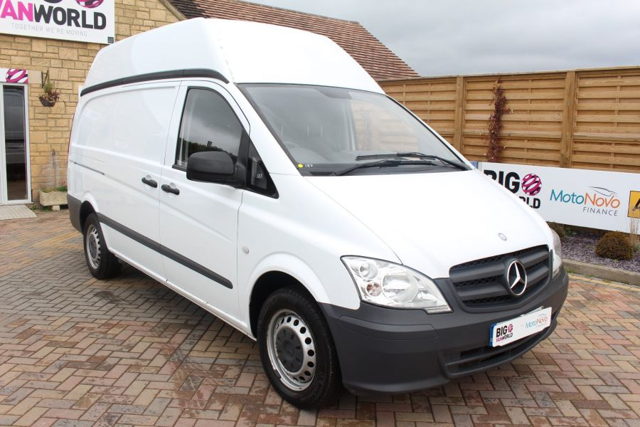 MERCEDES VITO 116 CDI 163 BHP LWB HIGH ROOF - 6716 - 3