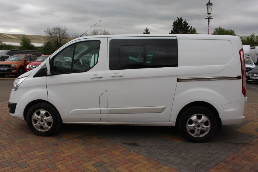 FORD TRANSIT CUSTOM 310 TDCI 170 L1 H1 LIMITED DOUBLE CAB 5 SEAT CREW VAN SWB LOW ROOF - 9234 - 8
