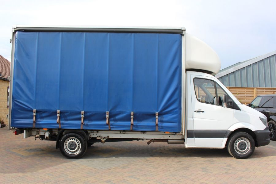 MERCEDES SPRINTER 313 CDI 129 LWB CURTAINSIDER - 7969 - 4