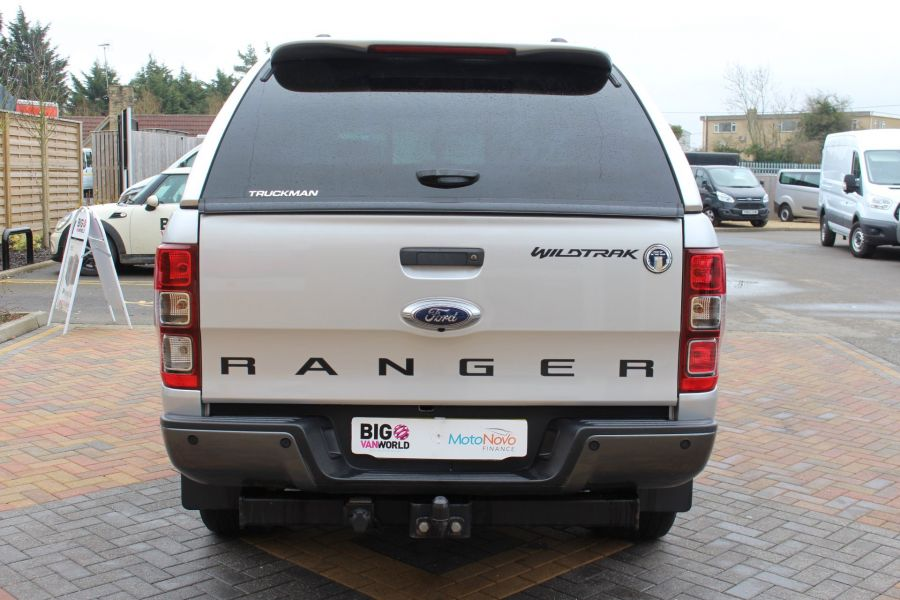 FORD RANGER WILDTRAK 4X4 TDCI 197 DOUBLE CAB WITH TRUCKMAN TOP - 7516 - 6