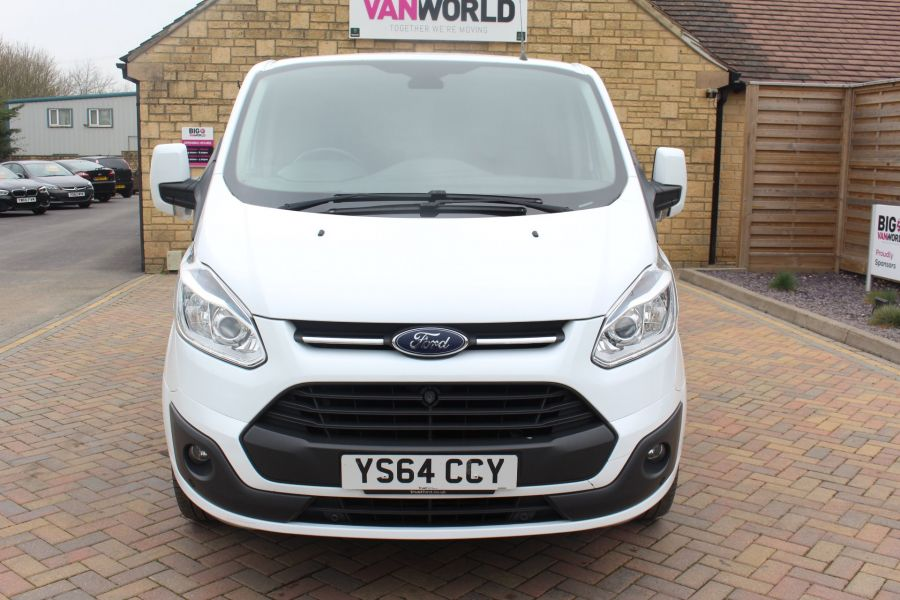 FORD TRANSIT CUSTOM 290 TDCI 155 L1 H1 LIMITED SWB LOW ROOF FWD - 9074 - 9