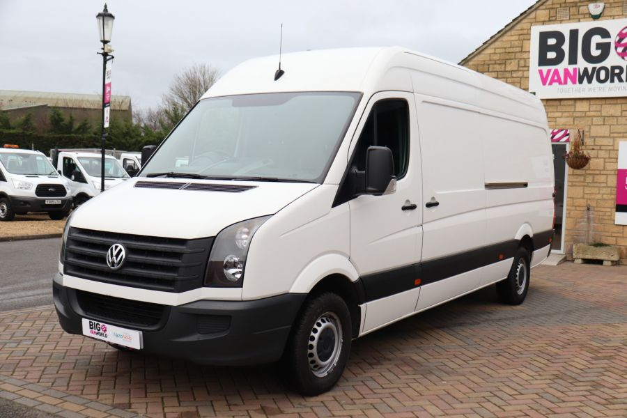 VOLKSWAGEN CRAFTER CR35 TDI 140 BMT LWB HIGH ROOF - 10447 - 9