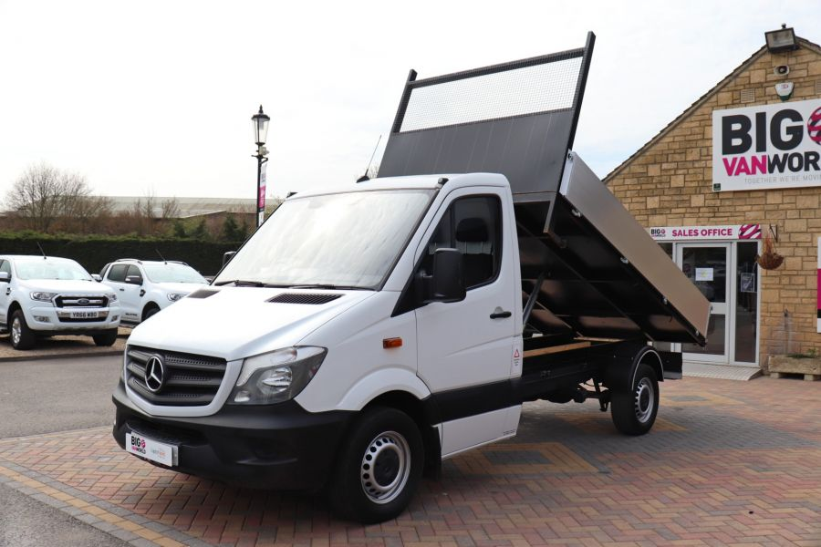 MERCEDES SPRINTER 313 CDI 129 MWB SINGLE CAB NEW BUILD ALLOY TIPPER - 10630 - 20