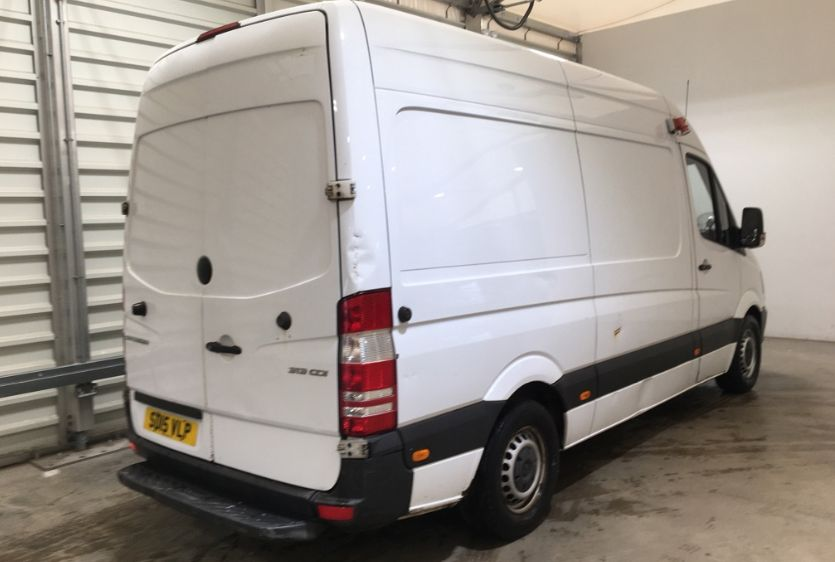 MERCEDES SPRINTER 313 CDI 129 MWB HIGH ROOF FRIDGE/FREEZER VAN WITH OVERNIGHT - 11238 - 4