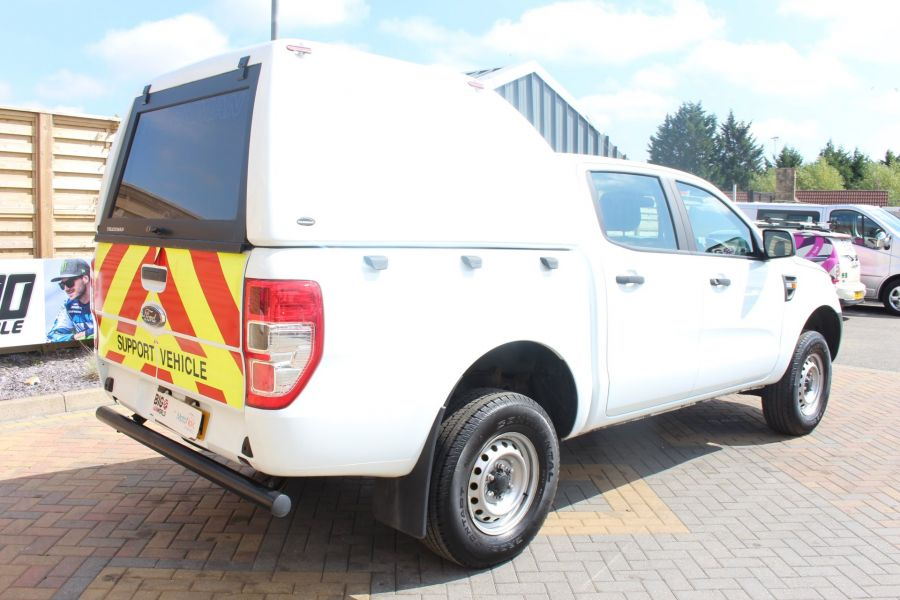 FORD RANGER TDCI 130 XL 4X4 DOUBLE CAB WITH TRUCKMAN TOP - 8119 - 5
