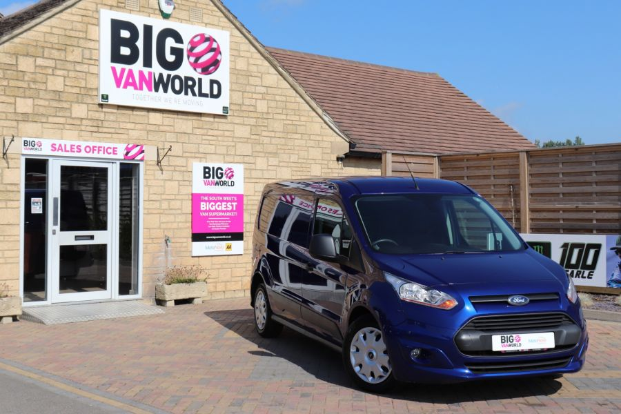 FORD TRANSIT CONNECT 210 TDCI 95 L2H1 TREND LWB LOW ROOF - 9800 - 1
