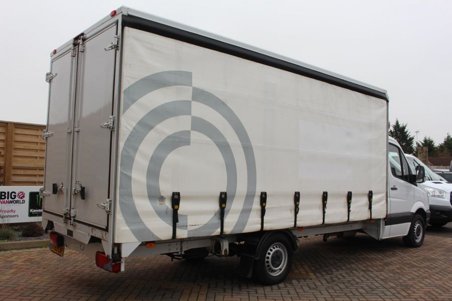 MERCEDES SPRINTER 313 CDI LWB 17FT CURTAIN SIDE BOX - 7006 - 5