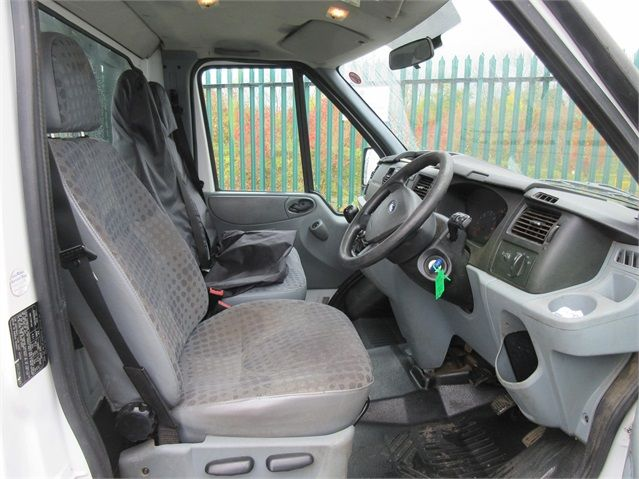 FORD TRANSIT 350 TDCI 100 MWB 'ONE STOP' ALLOY TIPPER DRW RWD - 6985 - 8