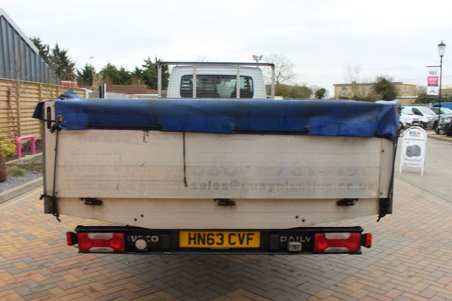 IVECO DAILY 35C13 4100 WB XLWB 20FT ALLOY DROPSIDE - 7302 - 6