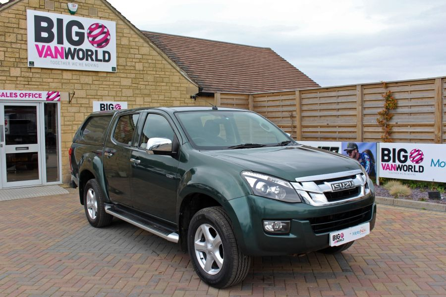 ISUZU D-MAX TD 163 YUKON VISION DOUBLE CAB WITH TRUCKMAN TOP - 9450 - 2