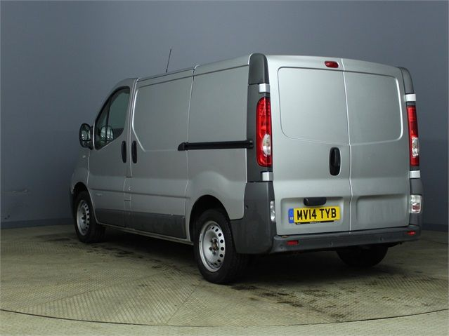 RENAULT TRAFIC SL27 DCI 115 SWB LOW ROOF - 7287 - 4