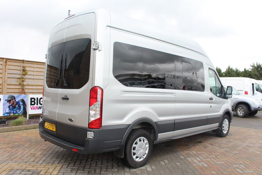 FORD TRANSIT 410 TDCI 155 L3 H3 TREND 15 SEAT BUS LWB HIGH ROOF RWD - 9122 - 3