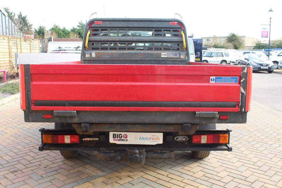 FORD TRANSIT 300 TDCI 110 SWB ALLOY DROPSIDE - 7031 - 6
