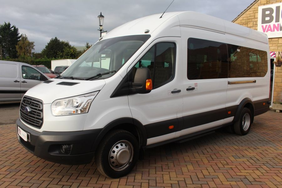 FORD TRANSIT 460 TDCI 125 L4 H3 TREND LWB HIGH ROOF 17 SEATS BUS - 6718 - 8