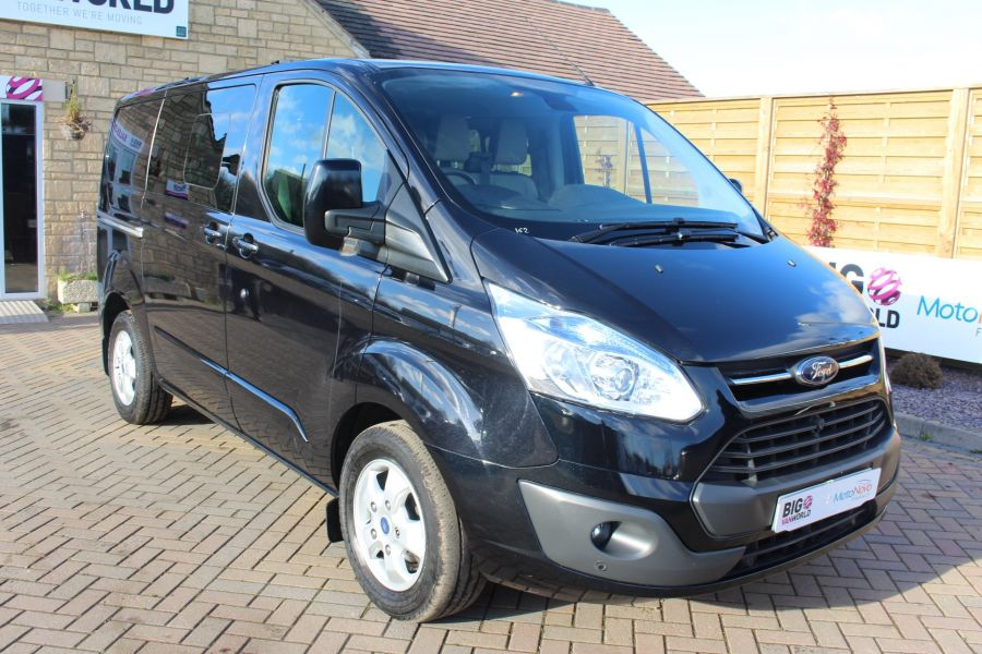 FORD TRANSIT CUSTOM 290 TDCI 155 L1 H1 LIMITED DOUBLE CAB 6 SEAT CREW VAN SWB LOW ROOF FWD - 7026 - 3