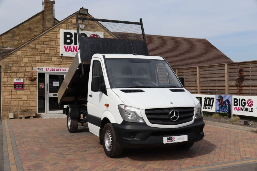 MERCEDES SPRINTER 313 CDI 129 MWB SINGLE CAB NEW BUILD ALLOY TIPPER - 10678 - 4