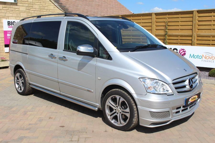 MERCEDES VITO 122 CDI SPORT-X DUALINER COMPACT 224 BHP SPECIAL EDITION - 6109 - 3