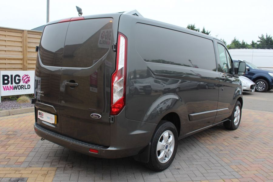 FORD TRANSIT CUSTOM 270 TDCI 125 L1 H1 LIMITED SWB LOW ROOF FWD - 7818 - 5