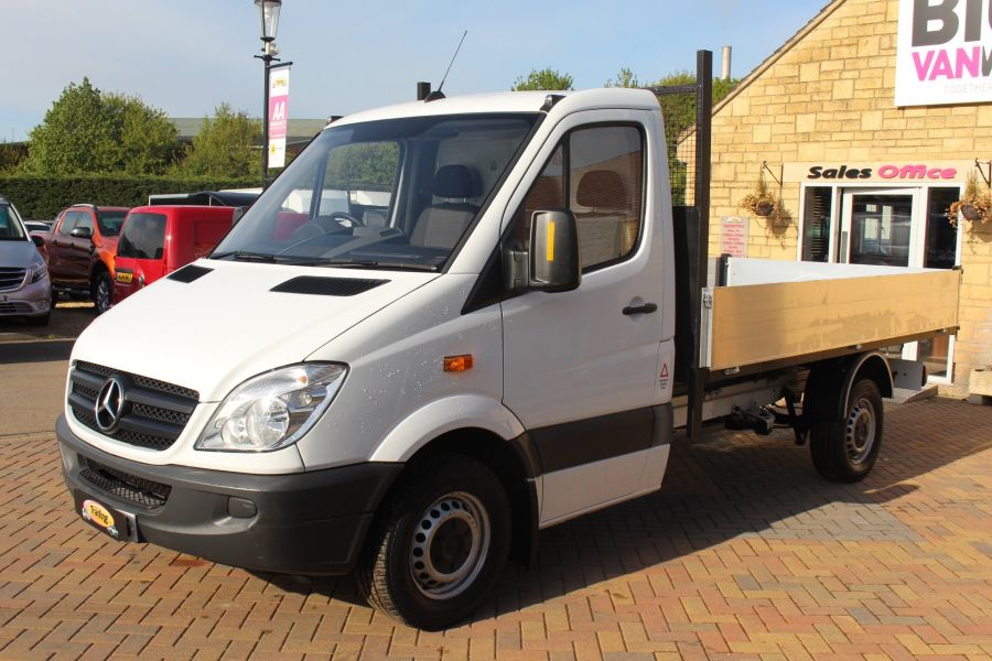 MERCEDES SPRINTER 313 CDI MWB SINGLE CAB ALLOY TIPPER - 5584 - 13