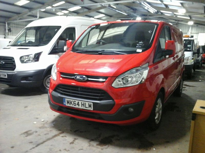 FORD TRANSIT CUSTOM 290 TDCI 125 L1H1 LIMITED SWB LOW ROOF FWD - 10108 - 1