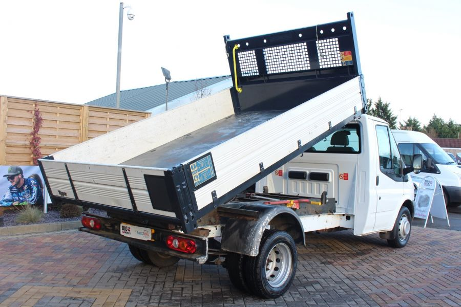FORD TRANSIT 350 TDCI 100 MWB 'ONE STOP' ALLOY TIPPER DRW RWD - 6726 - 5