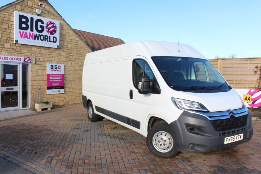 CITROEN RELAY 35 HDI 130 L3 H2 ENTERPRISE LWB MEDIUM ROOF - 8570 - 2
