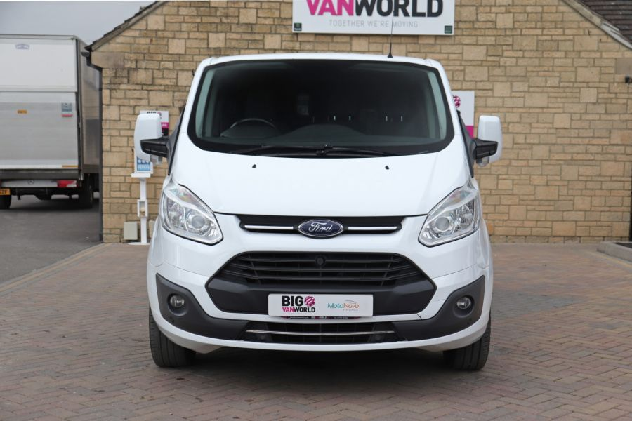 FORD TRANSIT CUSTOM 310 TDCI 130 L2H1 LIMITED DOUBLE CAB 6 SEAT CREW VAN LWB LOW ROOF FWD  (13819) - 12104 - 13