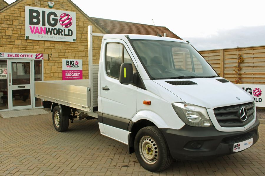 MERCEDES SPRINTER 313 CDI 129 MWB SINGLE CAB NEW BUILD ALLOY DROPSIDE - 9678 - 2