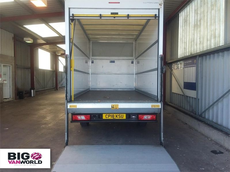 FORD TRANSIT 350 TDCI 130 L4 'ONE STOP' LUTON WITH TAIL LIFT - 10128 - 9