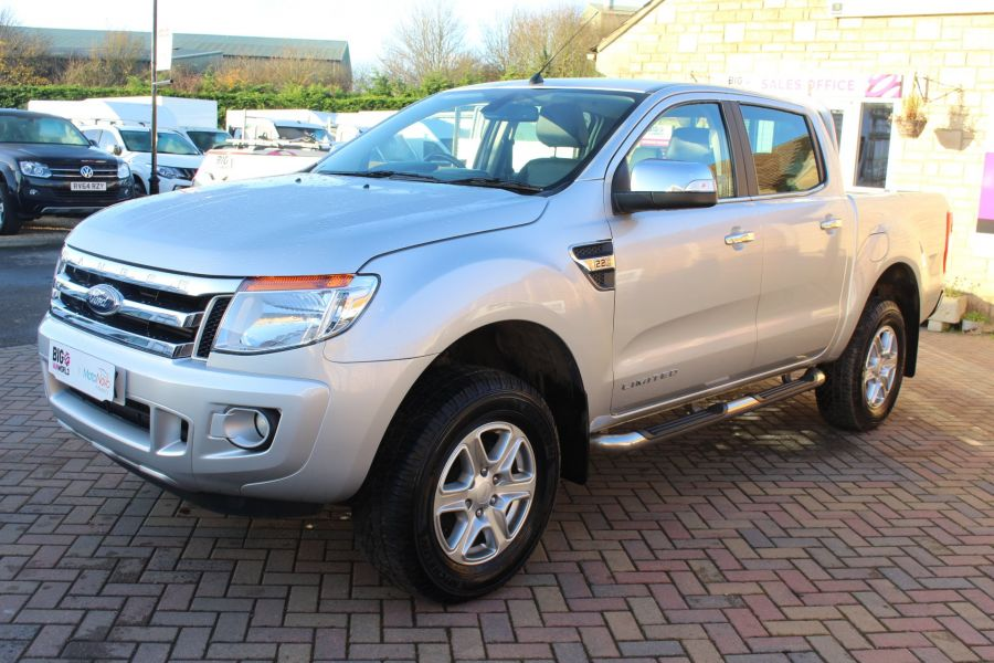 FORD RANGER TDCI 150 LIMITED 4X4  DOUBLE CAB - 6981 - 8