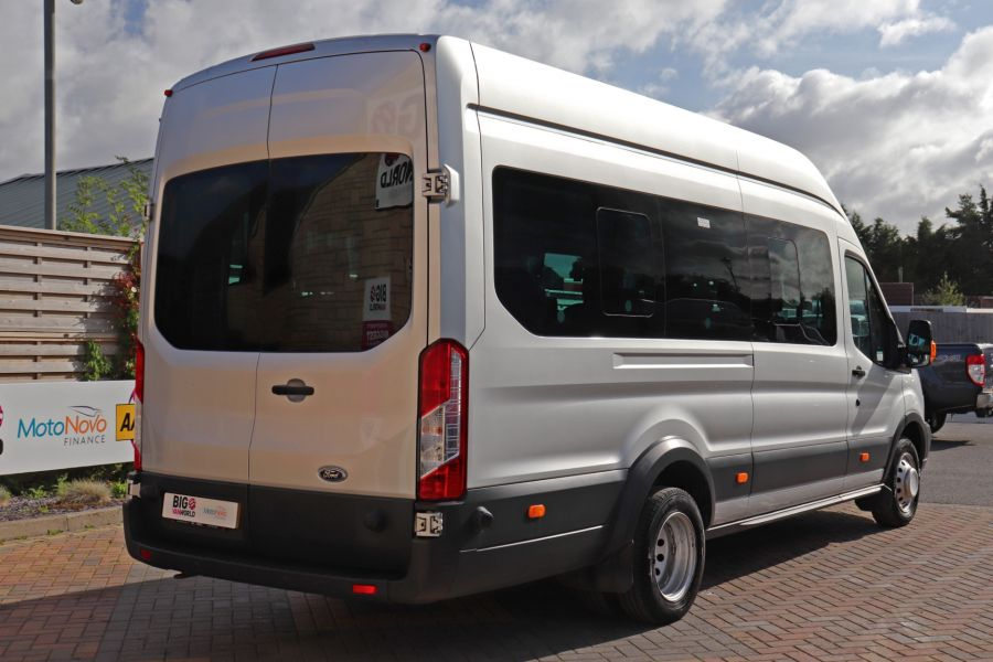 FORD TRANSIT 460 TDCI 155 L4H3 TREND 17 SEAT BUS HIGH ROOF DRW RWD  - 9893 - 5