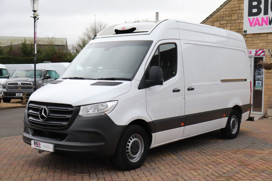 MERCEDES SPRINTER 314 CDI 143 L2H2 FRIDGE VAN MWB HIGH ROOF RWD - 12024 - 12