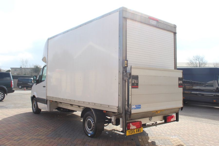 VOLKSWAGEN CRAFTER CR35 TDI 109LUTON WITH TAIL LIFT - 7362 - 6