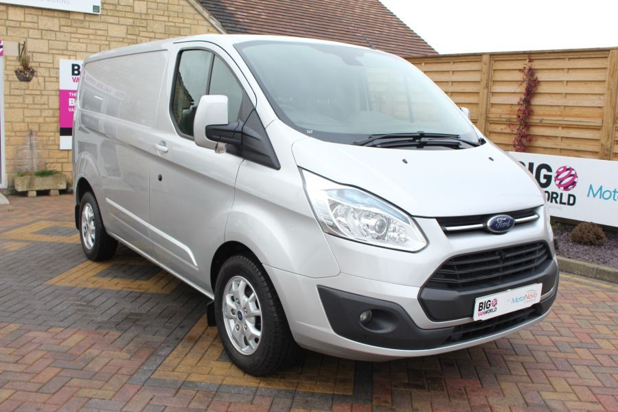 FORD TRANSIT CUSTOM 270 TDCI 125 L1 H1 LIMITED SWB LOW ROOF FWD - 7142 - 3