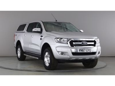 FORD RANGER TDCI 160 LIMITED 4X4 DOUBLE CAB WITH TRUCKMAN TOP - 10906 - 1