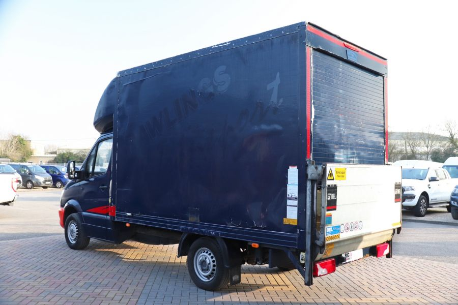 MERCEDES SPRINTER 313 CDI 129 MWB LUTON WITH TAIL LIFT - 12154 - 10