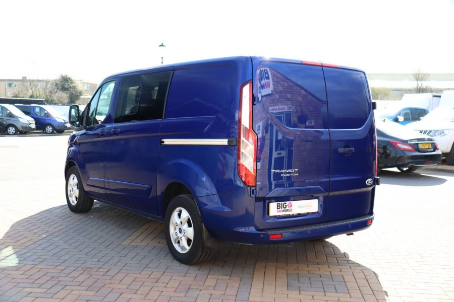 FORD TRANSIT CUSTOM 310 TDCI 130 L1H1 LIMITED DOUBLE CAB 6 SEAT CREW VAN FWD - 10553 - 7