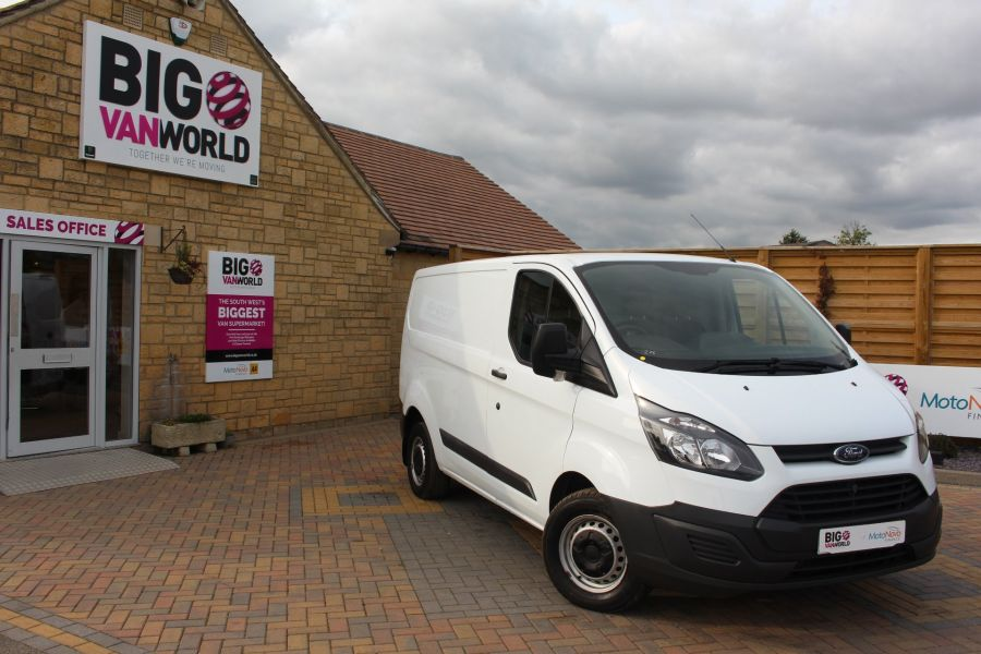 FORD TRANSIT CUSTOM 290 TDCI 125 L1 H1 SWB LOW ROOF FWD - 6562 - 1